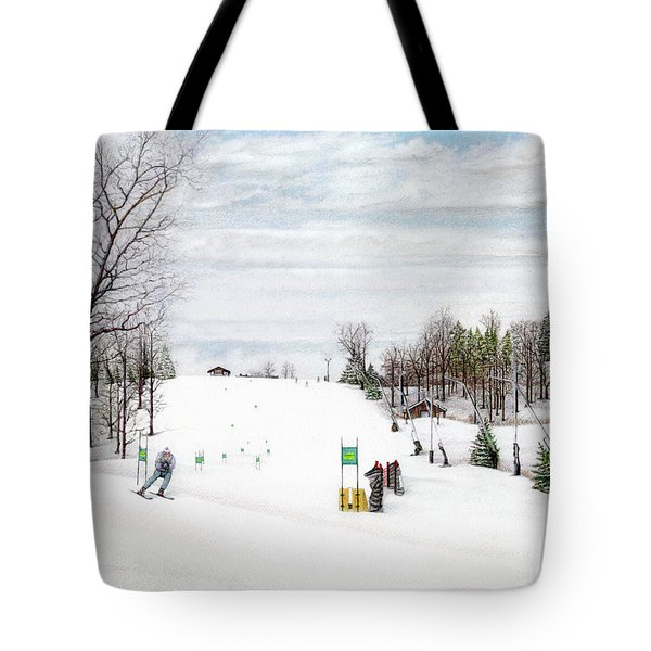 Nastar At Seven Springs Mountain Resort Tote Bag