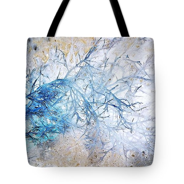 Oppostracts 10 - Seaweed Tote Bag