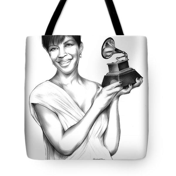 Natalie Cole Tote Bag