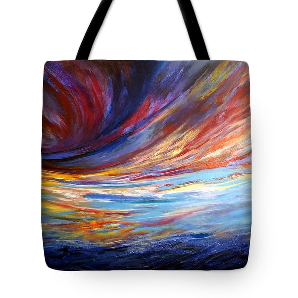 Natchez Sky Tote Bag