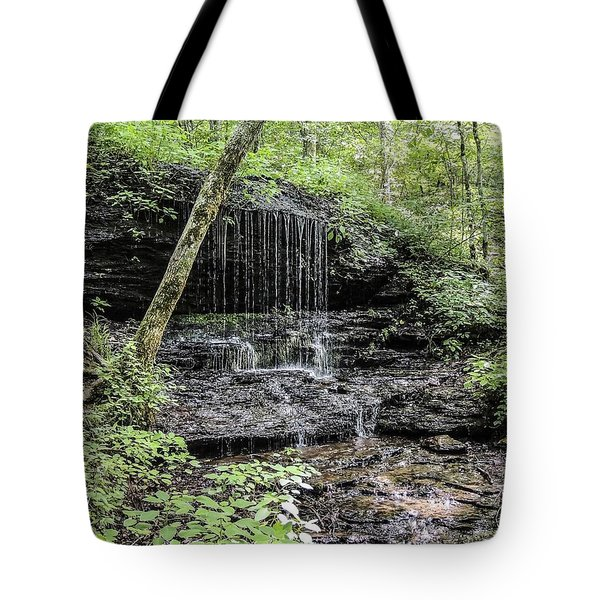 Natchez Trace Waterfall Tote Bag