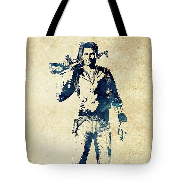 Nathan Drake Tote Bag