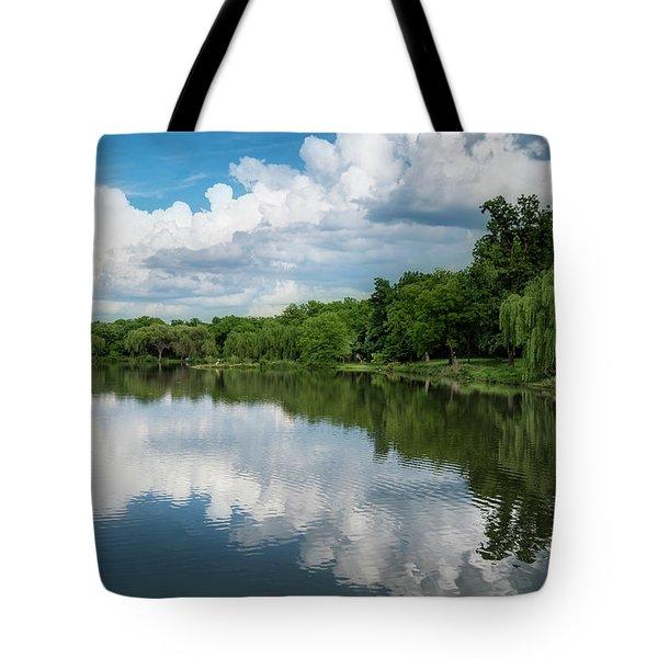 Nathanael Greene Park Tote Bag