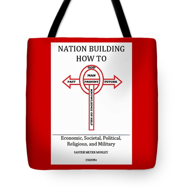 Nation Building How To Book Tote Bag