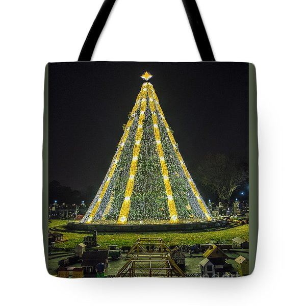 National Christmas Tree #1 Tote Bag by Sandy Molinaro