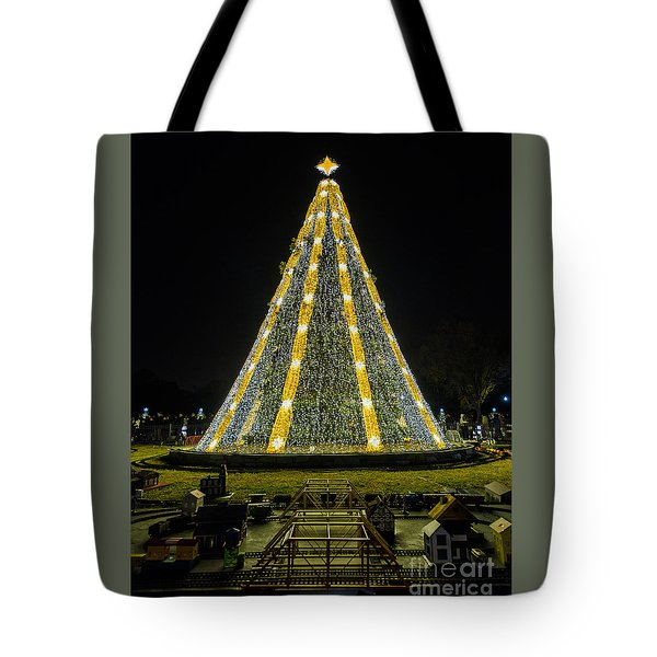 National Christmas Tree #2 Tote Bag by Sandy Molinaro