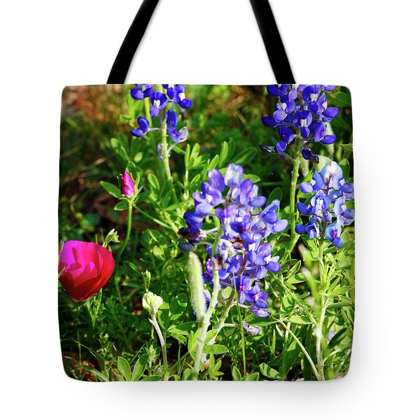 Tote Bag featuring the photograph National Colors by Charles McKelroy