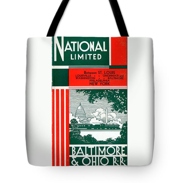 National Limited Tote Bag
