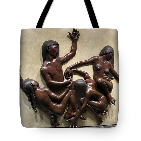 National Museum Of The American Indian 6 Tote Bag by Randall Weidner