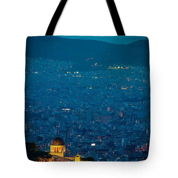 National Observatory Of Athens Tote Bag
