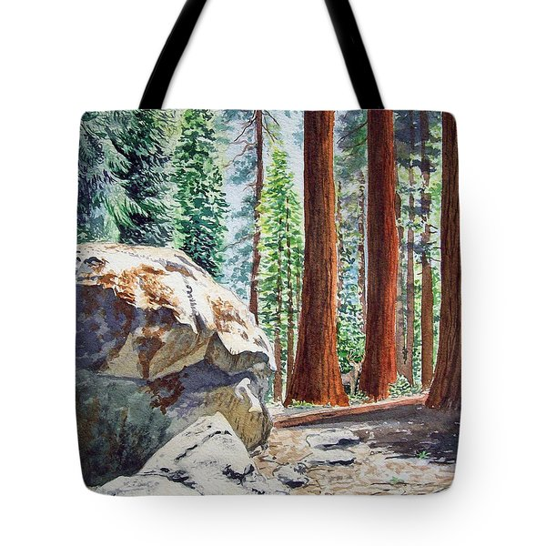 National Park Sequoia Tote Bag