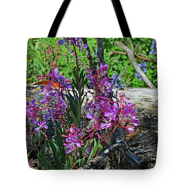 Tote Bag featuring the photograph National Parks. From The Ashes To New Life. by Ausra Huntington nee Paulauskaite