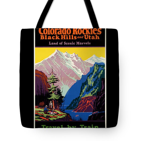 National Parks Posters Tote Bag