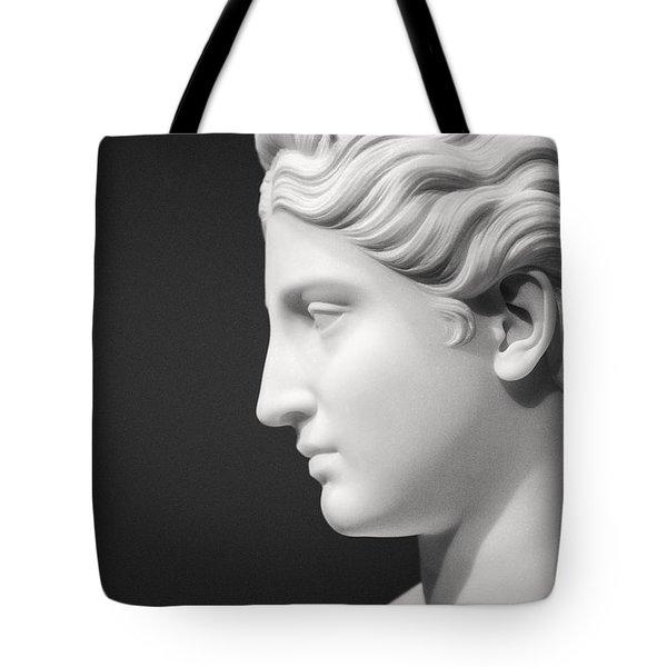 National Portrait Gallery Statue Profile Tote Bag