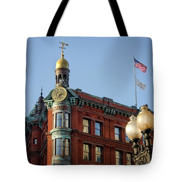 National Savings And Trust Company Tote Bag by Greg Mimbs