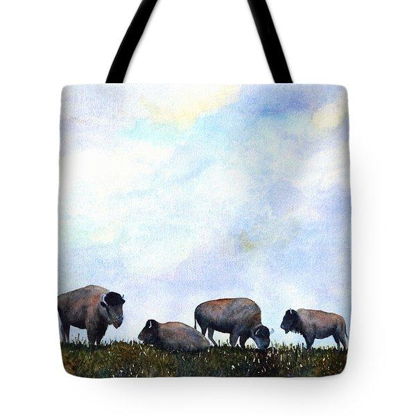 National Treasure - Bison Tote Bag