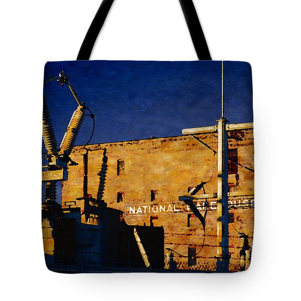 National Warehouse Corp Tote Bag by David Blank