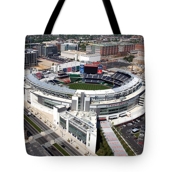 Nationals Park Tote Bag by Carol Highsmith