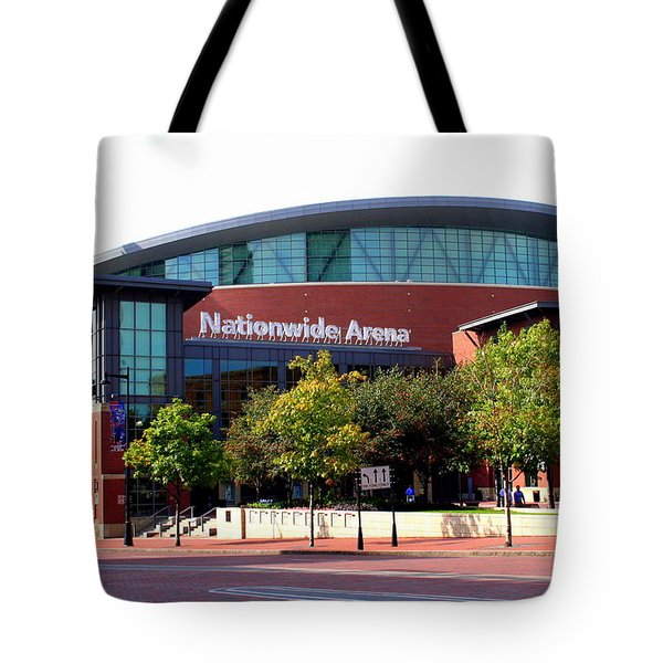 Nationwide Arena Tote Bag