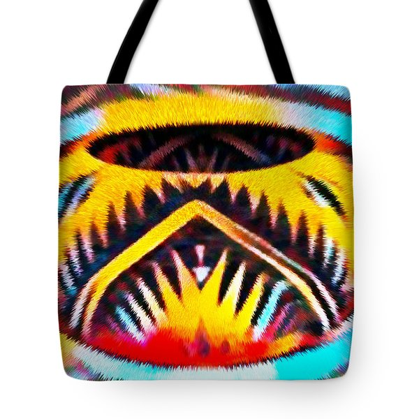 Native American Basket 1 Tote Bag