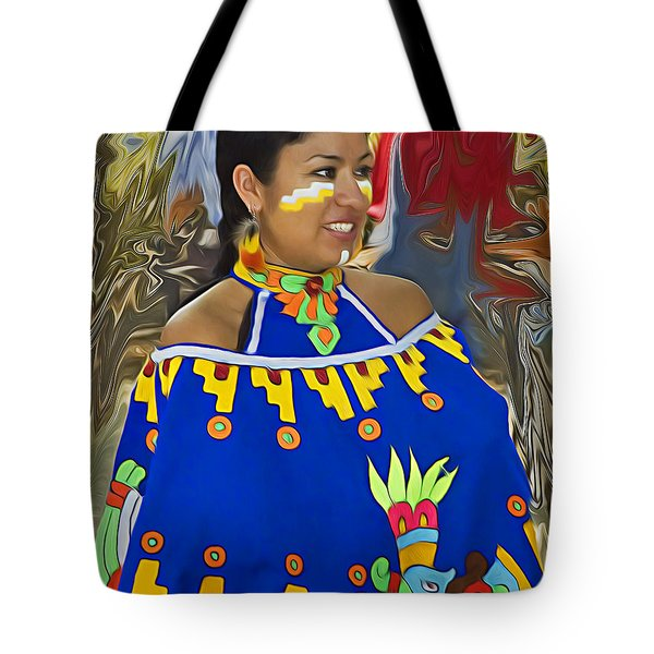 Native American Beauty 2 Tote Bag