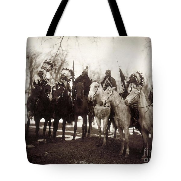 Native American Chiefs Tote Bag by Granger