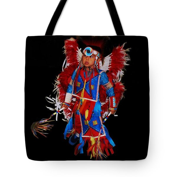 Native American Dancer Tote Bag