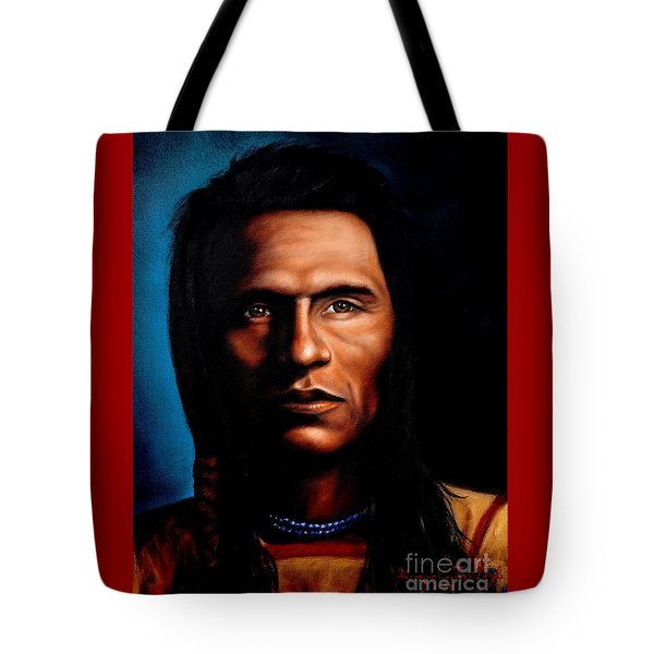 Native American Indian Soaring Eagle Tote Bag
