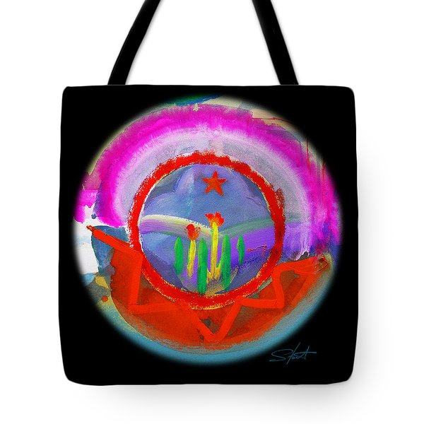 Native American Spring Tote Bag by Charles Stuart