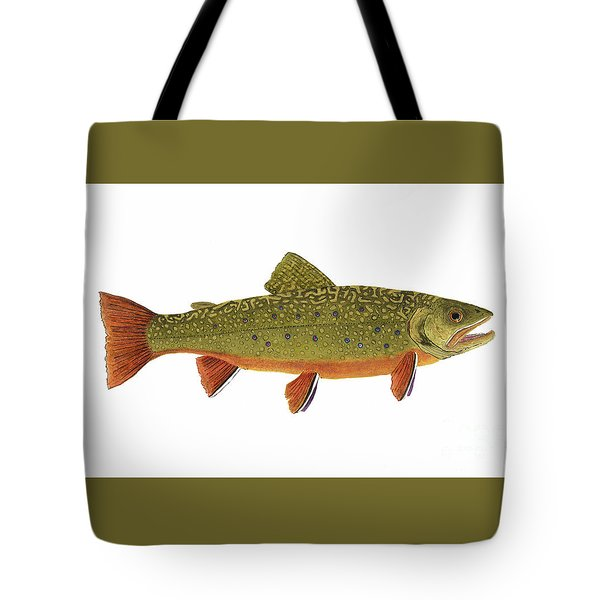 Native Brook Trout Tote Bag