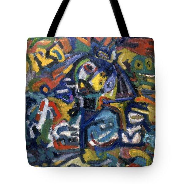 Native Colourz Tote Bag