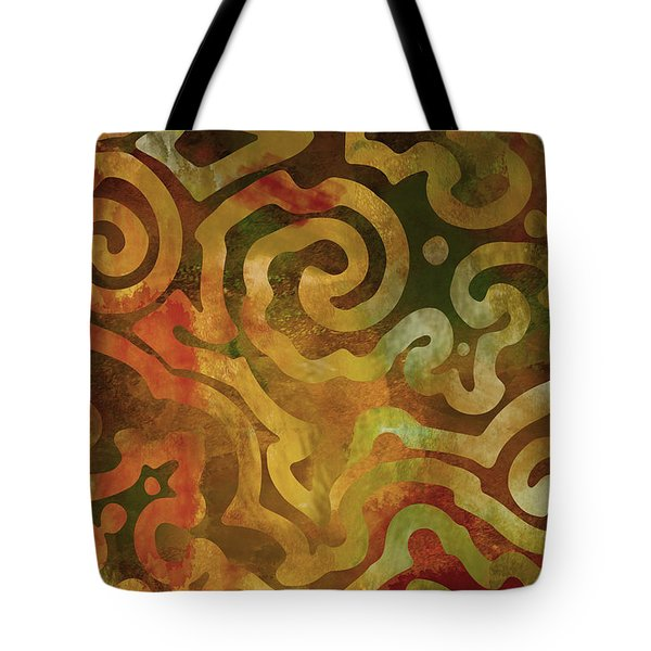 Native Elements Earth Tones Tote Bag by Mindy Sommers