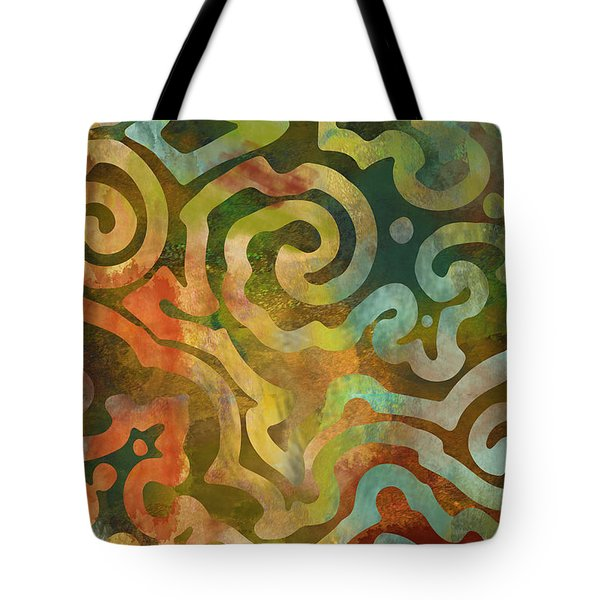 Native Elements Multicolor Tote Bag by Mindy Sommers