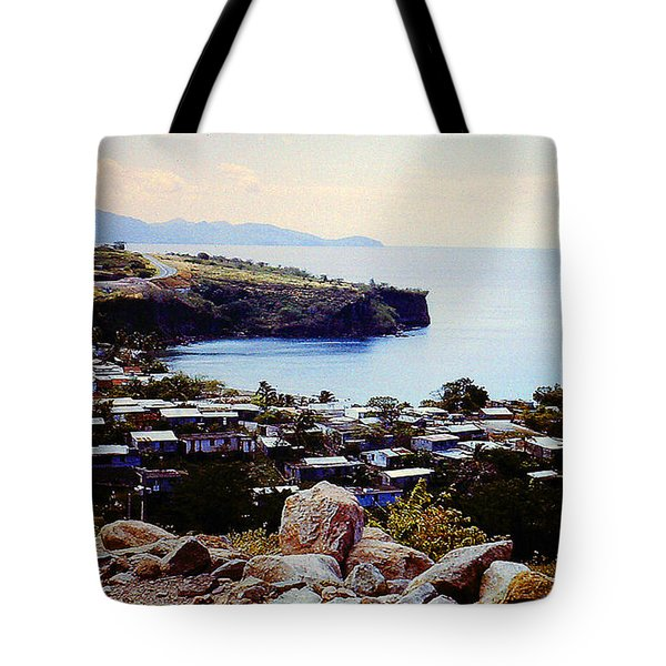 Tote Bag featuring the photograph Native Hawaiian Village by Merton Allen