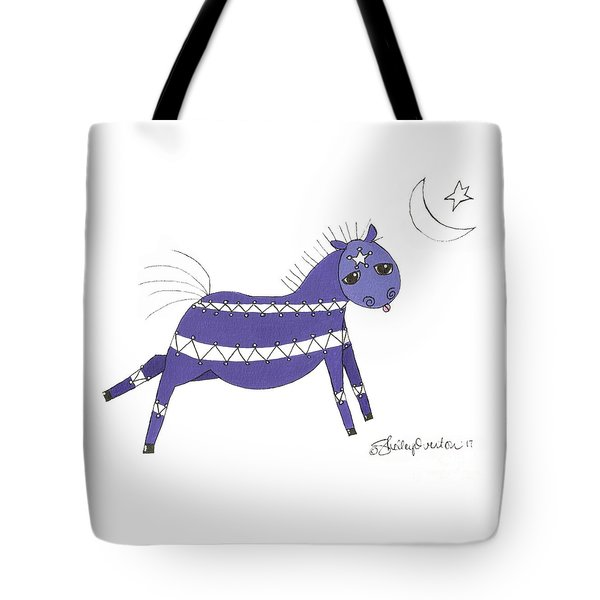 Native Horsey Tote Bag by Shelley Overton