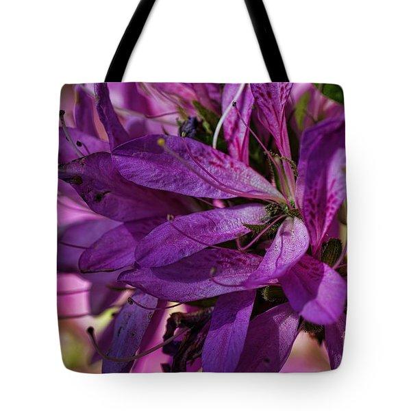 Native Long Petals Tote Bag