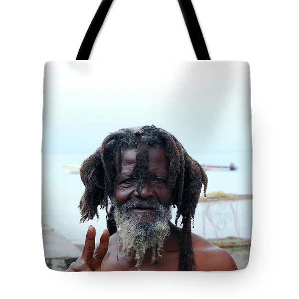 Tote Bag featuring the photograph Native Man by Gary Wonning