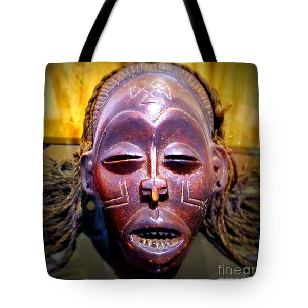 Native Mask Tote Bag
