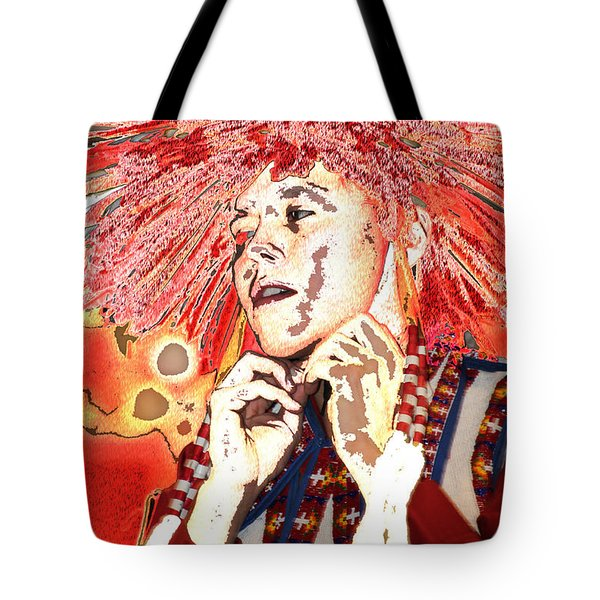 Native Prince Tote Bag by Audrey Robillard