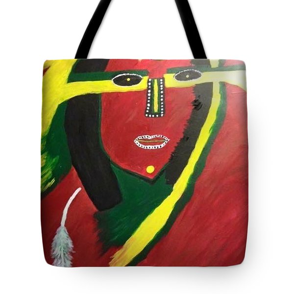 native Queen  Tote Bag
