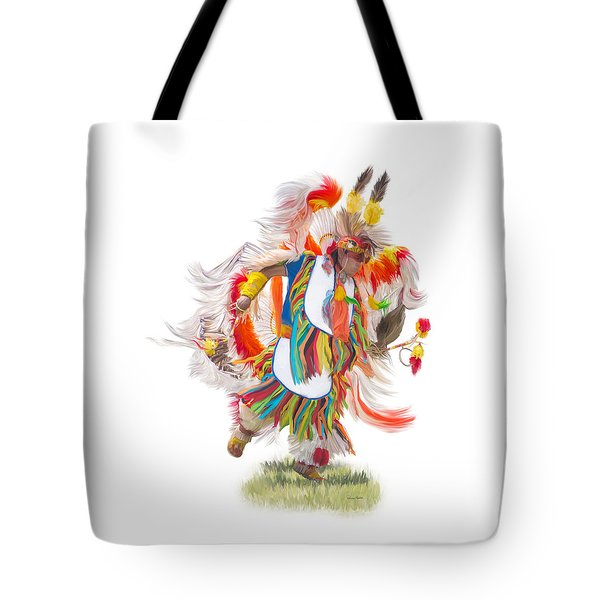 Native Rhythm Tote Bag