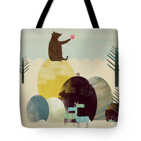 Native Sunset Tote Bag