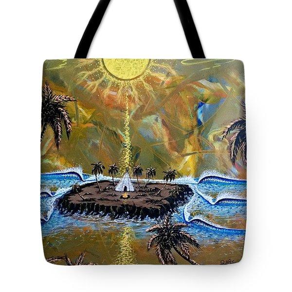 Native Sunset Dream Tote Bag