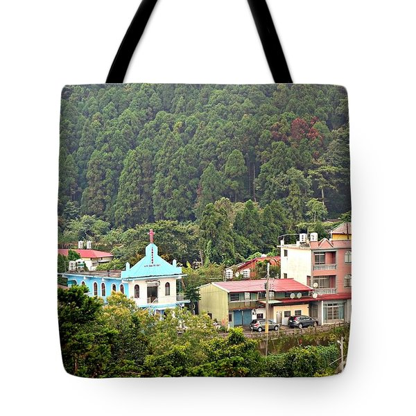 Tote Bag featuring the photograph Native Village In Taiwan by Yali Shi