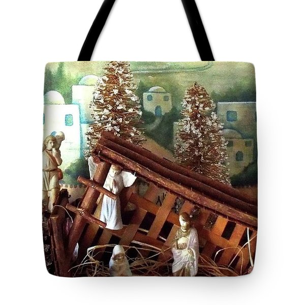 Nativity Of Our Lord Tote Bag