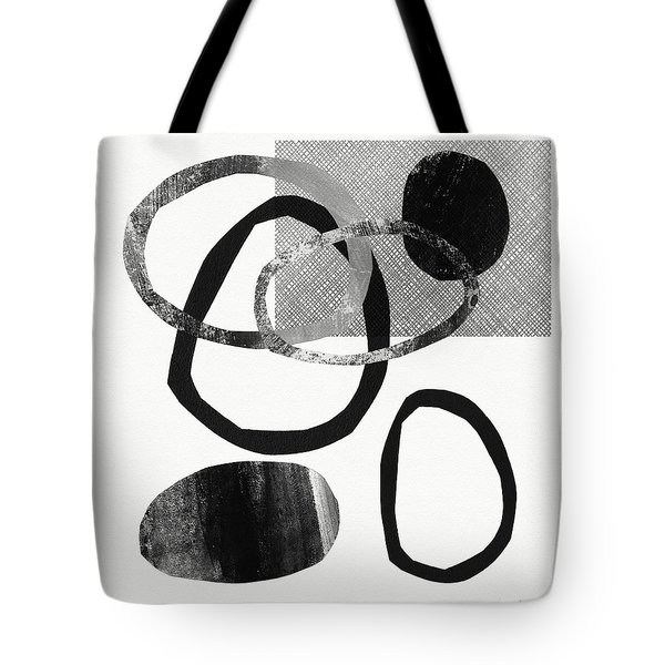 Natural Balance 2- Abstract Art By Linda Woods Tote Bag