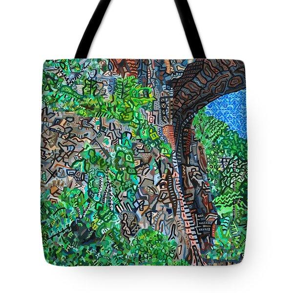 Natural Bridge Tote Bag by Micah Mullen