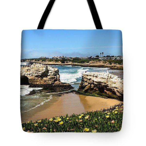 Natural Bridges State Park Beach Tote Bag