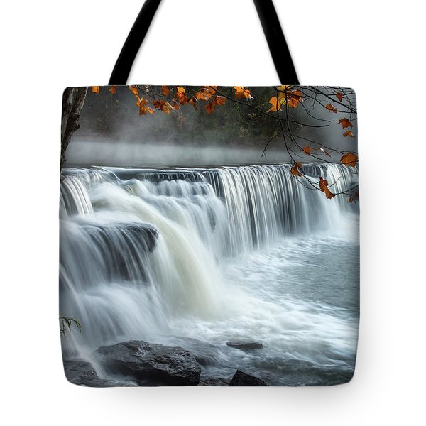 Natural Dam Falls Tote Bag