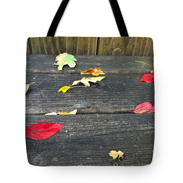 Natural Fall Tote Bag